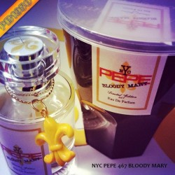 """""""LIMITED EDITION DRINK"""" PEPE 467 NYC BLOODY MARY EDP 50ML SPRAY"""
